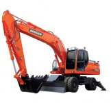 MAY XUC DAO BANH LOP DOOSAN - DX210WA