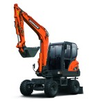 MAY XUC DAO BANH LOP DOOSAN - DX55W 1