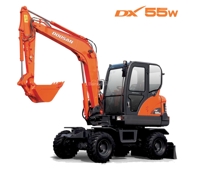 MAY XUC DAO BANH LOP DOOSAN - DX55W 4
