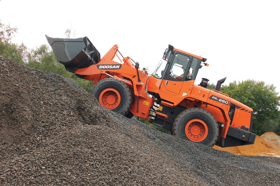 MAY XUC LAT DOOSAN - DL250A 2