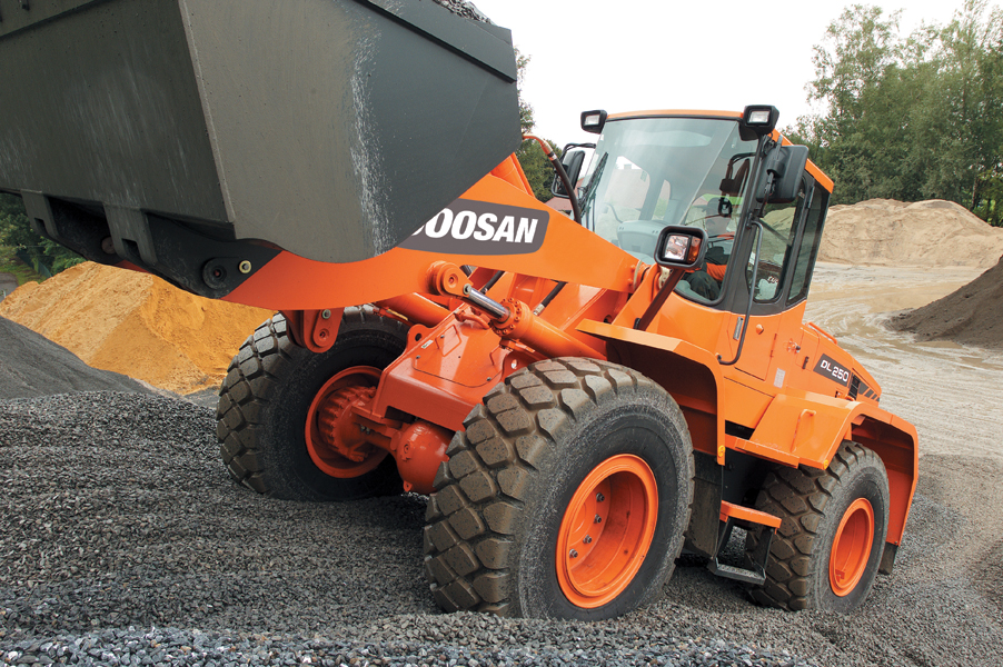 MAY XUC LAT DOOSAN - DL250A 4