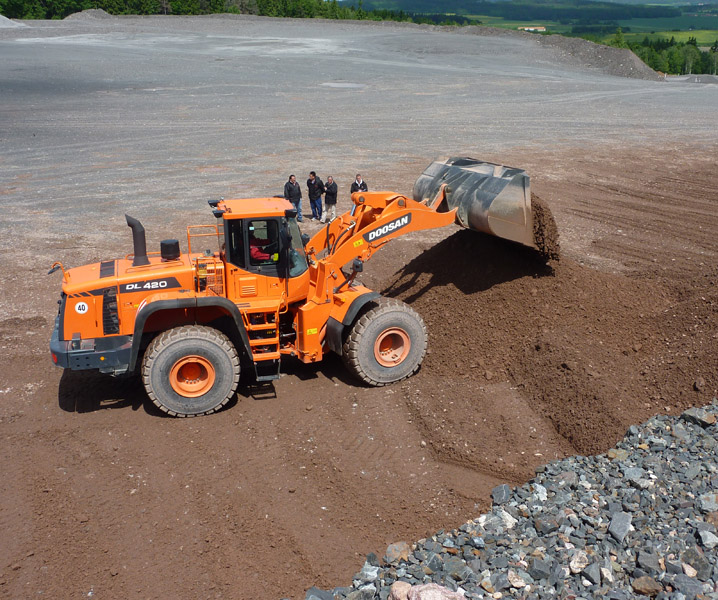 MAY XUC LAT DOOSAN - DL420A 4